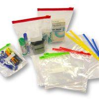 buste zip traparenti -clear polyetylene slider polibag