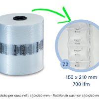 Rotolo Cuscinetti 150×210 – Roll for air cushion 150×210